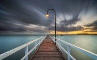 Lagoon Pier 2 by Lincoln Harrison - various sizes