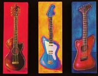 Three Guitars Fine Art Print