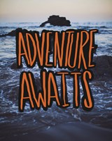 Adventure Awaits by Leah Flores - various sizes