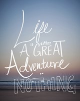 Great Adventure by Leah Flores - various sizes - $17.49
