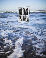 Ocean Blues by Leah Flores - various sizes