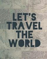 Travel the World Fine Art Print