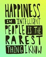 Hemingway Happiness Fine Art Print