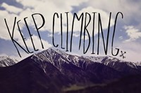 Keep Climbing by Leah Flores - various sizes