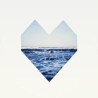 Ocean Heart S6 Fine Art Print