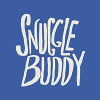 Snuggle Buddy X Blue by Leah Flores - various sizes