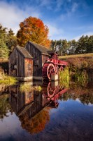 The Old Grist Mill Fine Art Print