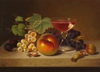 Fruit and Cocktail Fine Art Print