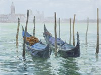 Gondolas Fine Art Print