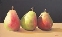 Pear Procession Fine Art Print