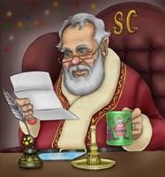Santa's Letters Fine Art Print