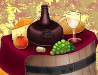 Wine Time Fine Art Print
