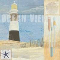 Coastal Beacon 1 by Art Licensing Studio - various sizes