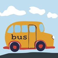 Bus Baba by Art Licensing Studio - various sizes