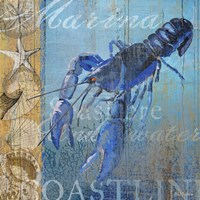 Lobster and Sea Fine Art Print