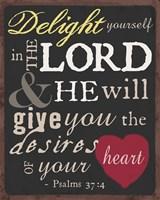 Psalm Saying I Framed Print