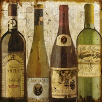 Wine Samples of Europe I Fine Art Print