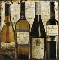 Wine Samples of Europe II by Art Licensing Studio - various sizes