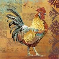 Coq Motifs I Fine Art Print