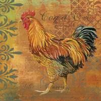 Coq Motifs II by Art Licensing Studio - various sizes