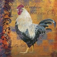 Coq Motifs III by Art Licensing Studio - various sizes