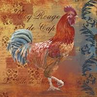 Coq Motifs IV by Art Licensing Studio - various sizes