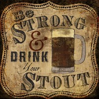 Strong and Stout Framed Print