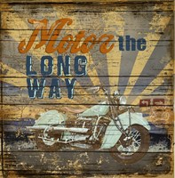 Motor the Way by Art Licensing Studio - various sizes