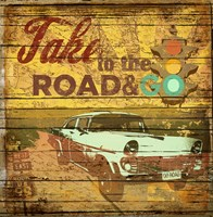 Take to the Road by Art Licensing Studio - various sizes