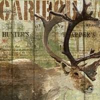 Open Season Caribou by Art Licensing Studio - various sizes