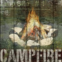 Open Season Campfire Fine Art Print