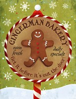 Gingerman Bakery by Art Licensing Studio - various sizes - $38.49