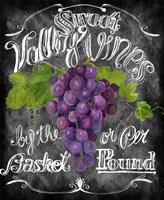 Sweet Valley Vines Fine Art Print