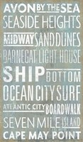 Jersey Shore Sites by Art Licensing Studio - various sizes