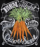 Chalkboard Carrots by Art Licensing Studio - various sizes