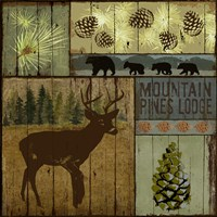 Pines and Oaks III by Art Licensing Studio - various sizes