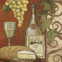 Wine and Cheese Tasting 2 Framed Print