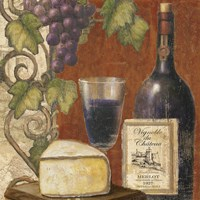 Wine and Cheese Tasting 3 Fine Art Print