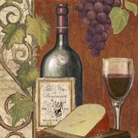 Wine and Cheese Tasting 4 by Art Licensing Studio - various sizes
