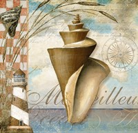 Shell Dreams 1 by Art Licensing Studio - various sizes