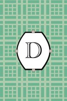 Initials Pattern D by Art Licensing Studio - various sizes