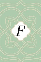 Initials Pattern F by Art Licensing Studio - various sizes