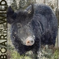 Boar in the Wild by Art Licensing Studio - various sizes