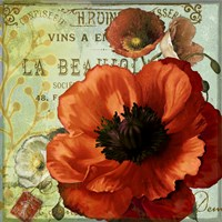 Rouge From the Garden III by Art Licensing Studio - various sizes
