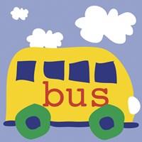 Yellow School Bus by Erin Clark - various sizes