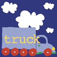 Blue Truck by Erin Clark - various sizes