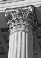 Corinthian Column II Framed Print