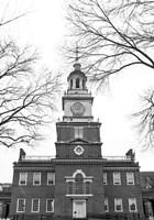 Independence Hall (Center) Framed Print
