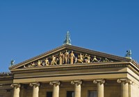 Philadelphia Museum (Pediment I) by Erin Clark - various sizes