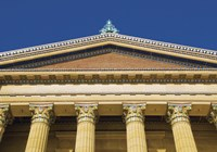 Philadelphia Museum (Pediment II) by Erin Clark - various sizes